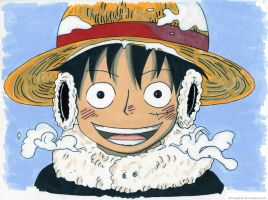 Luffy, why are you so cute ? by ShiNoGekai