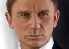 Daniel craig WIP by al-turnertive