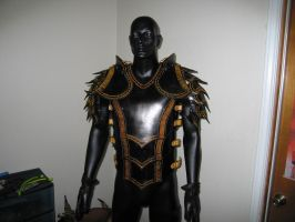 Leather Armor Variant - Front by Azmal