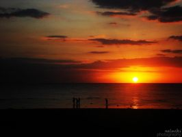 sunset in marinduque by nelmski