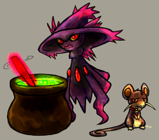 The Potion Witch by Haychel