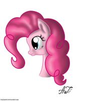 Pinkie Pie's portrait by ArtyJoyful