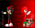 Shadow and Knuckles - Tuff Boys by AnimalCreation