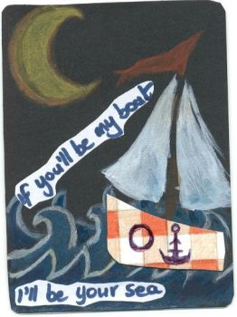 I'll be Your Boat--- ATC by TheQueenofLeons