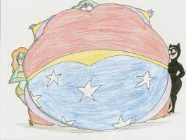 COM Wonder Woman fat berry by Robot001