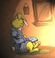 Quiet Time by ArtisteFish
