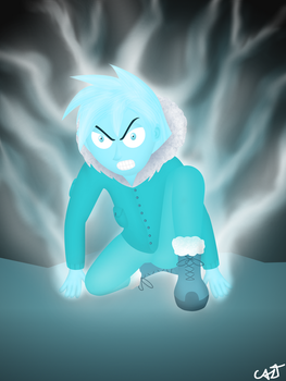 Angry Cold Finger by theCAZTman