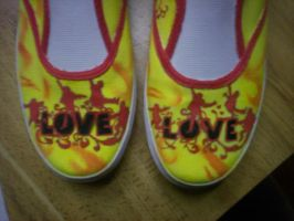 Beatles Shoes by Tammy-Tamborine