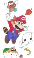 Super Mario 3 - Colored by killALLthezombies