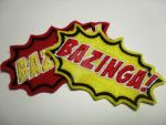 Bazinga Embroidery Patches! by Whyte-Raven
