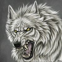Blinking werewolf icon by AnsticeWolf