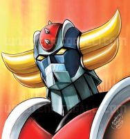 Grendizer - Sketch color by EnricoGalli