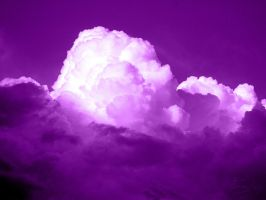 Purple Clouds (Spirit Day) by aemiliuslives