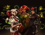 Gotham City Sirens by Arkenstellar