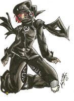 Gaia Avator Request - Coloured by Avro-Chan