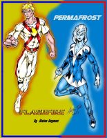 Flashfire and Permafrost by Blaine Daymon by Captain86