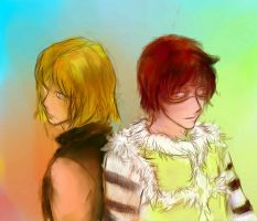 Mello end Matt by ymymy