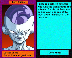 Files of Evil: Lord Frieza by DarthVaderXSnips