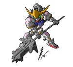 Chibi Gundam Barbatos by GuyverC
