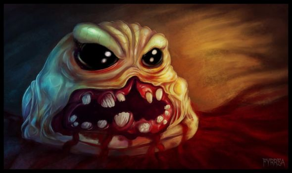 The Binding of Isaac: Monstro by Fyrrea