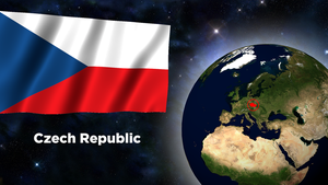 Flag Wallpaper - Czech Republic by darellnonis