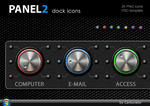 Panel 2 dock icons by Carburator