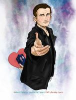 The Ninth Doctor by sketchditto