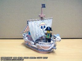 small Going Merry is small by ninjatoespapercraft