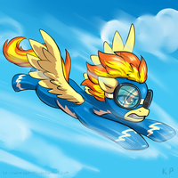 Speedpaint 26 - Spitfire by KP-ShadowSquirrel