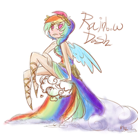 rainbow dash by Wrenhat