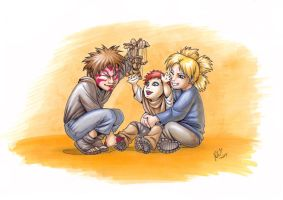Family that had to be - Color by ritam