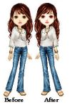 Bella Swan: Before and After by eternalsailorpisces