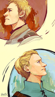 jaime and brienne - portraits by shorelle