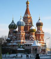 St. Basil's Cathedral by trentsxwife