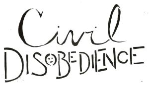Civil Disobedience Stencil 1 by civildisobedienceco