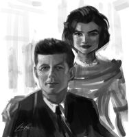 Jack and Jackie by AlexRuizArt