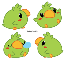Chibi Parrot by Daieny