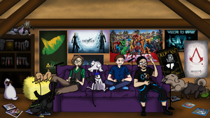 Scapegoat Gaming Banner by Owlette23