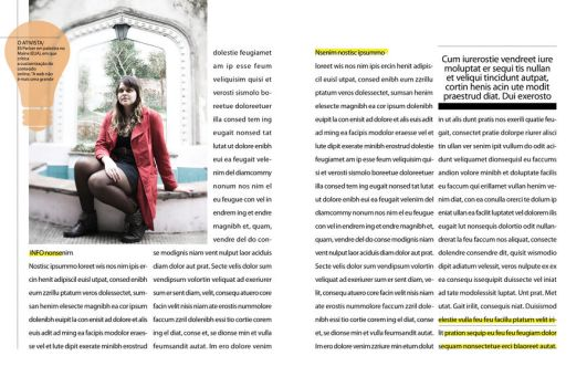 Magazine layout: INFO 04 by chavespapel