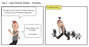 30 Day Pokemon Challenge - Day 2 by TheDannyMan