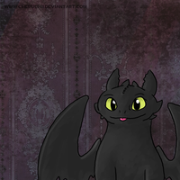 Toothless Dragon by ColonelCheru