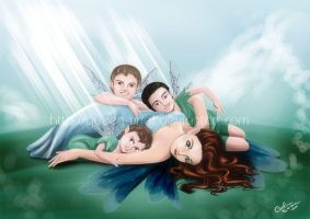 Fairy Family Commission by Queen-Uriel