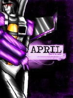 April- Skywarp by SeCrEtFeTiShEs