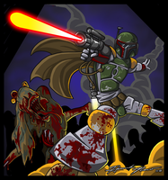 Zombie Star Wars by HannahNew