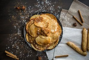 Cream cheese pancakes by Lleye
