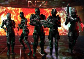 Mass Effect 3-N7 by LILR4MBO