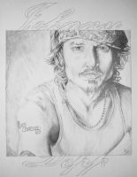 Johnny Depp by Elrohr