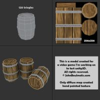 Barrel Game Prop by Johnboul