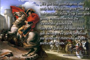 Napoleon about the Germans by Arminius1871