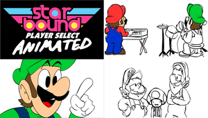 Starbomb Toad Joins The Band Progress by JeffKyler14